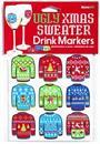 Ugly Sweater Drink Markers, Set of 12