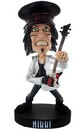 "Motley Crue 8.5"" Resin Bobblehead Statue: Nikki Sixx with Hat - Toynk Toys Exclusive"