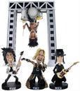 "Motley Crue 8.5"" Resin Bobblehead Statue ""All Bad Things Must End"" Exclusive Box Set with Big Drum Rig"