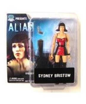 Alias Series 1 Action Figure - Sydney Bristow In Pink Cocktail