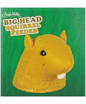 Big Head Squirrel Feeder Gag Gift