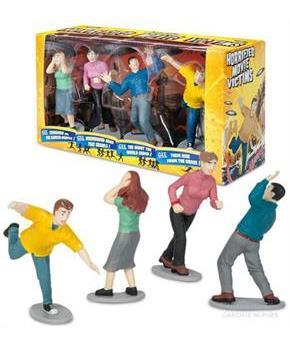Horrified Movie Victims Figure Set Of 4