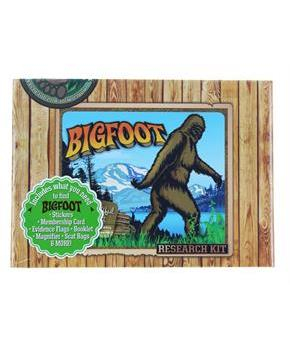Bigfoot Research Kit Gag Gift