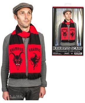 "Krampus 71"" Knit Scarf"