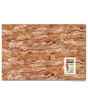 Bacon Gift Wrapping Paper, Set of 2
