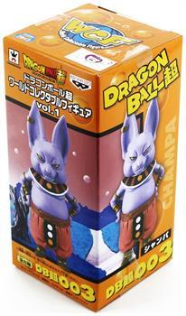 "Dragon Ball Z 3"" World Collectible Figure: Shampa"