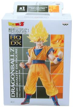 Dragon Ball Z DX Vol 1 Special Clear Version Super Saiyan Son Gokou Figure
