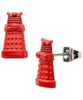 Doctor Who Red Dalek 3D Earring