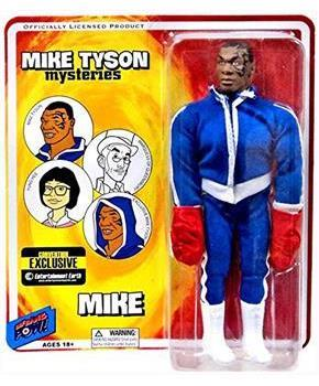 "Mike Tyson Mysteries 8"" Action Figure: Mike Tyson with Boxing Gloves"