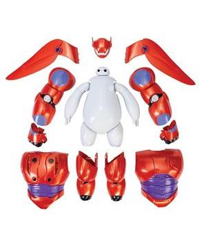 "Big Hero 6 Armor-Up Baymax 6"" Action Figure"