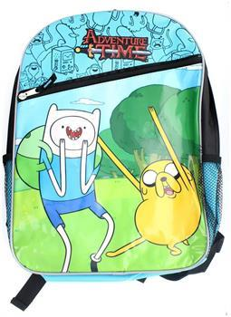 Adventure Time With Finn And Jake Zipper Backpack