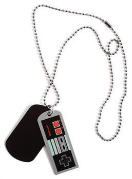 Nintendo Controller Dog Tags