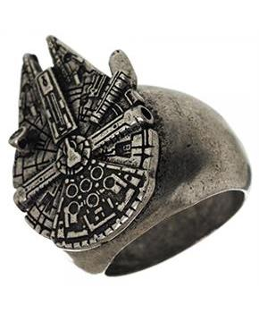 Star Wars Millennium Falcon Men's Ring