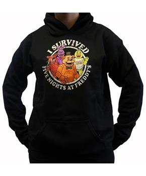 "Five Nights at Freddy's ""I Survived"" Youth Hoodie"