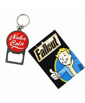 Fallout Nuka Cola Metal Keychain Bottle Opener