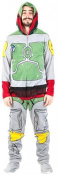 Star Wars Boba Fett Men's Union Suit