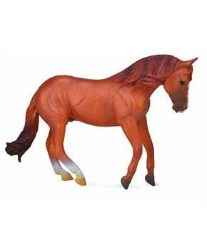 Breyer 1:18 CollectA Model Horse: Chestnut Australian Stock Horse Stallion