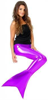 Purple Mermaid Fins Adult Costume Accessory