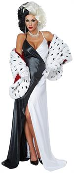 Cruel Diva Adult Costume, Large