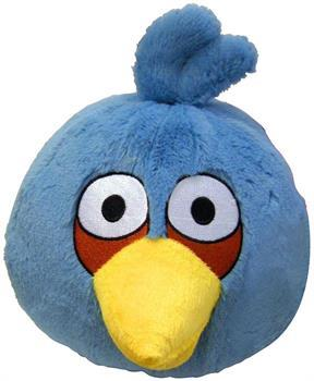 "Angry Birds 16"" Deluxe Plush Blue Bird"