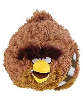 "Angry Birds Star Wars 16"" Deluxe Plush: Chewbacca"