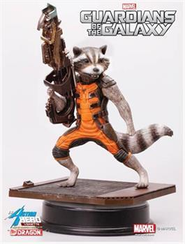 Marvel's Guardians of the Galaxy 1:9 Action Hero Vignette: Rocket Raccoon