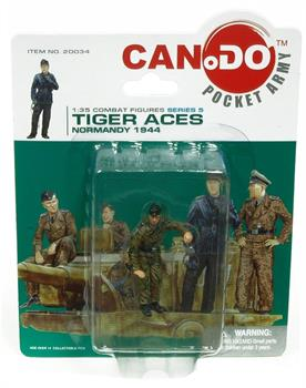 1:35 Combat Series 5 Tiger Aces Normandy 1944 Figure C Karlheinz