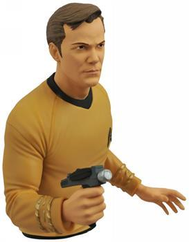 Star Trek Captain Kirk Vinyl Bust Bank