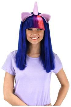 My Little Pony Twilight Sparkle Adult Costume Wig W/Ears and Horn