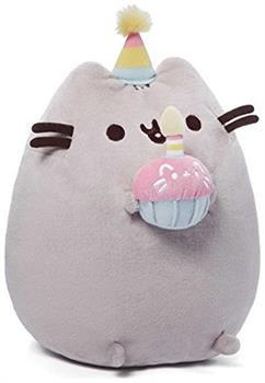 "Pusheen the Cat 10"" Plush Birthday Pusheen"