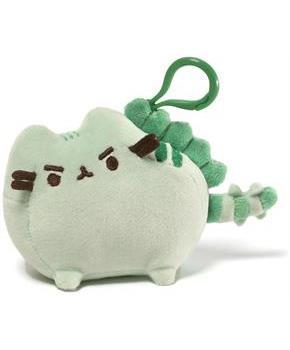 "Pusheen 4.5"" Plush Backpack Clip: Pusheenosaurus"