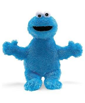 "Sesame Street Cookie Monster Character 12"" Plush"