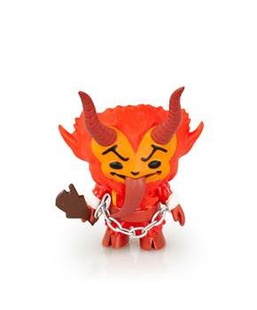 "Krampus 5"" Vinyl Figure, Festive Red"