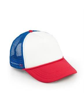 Stranger Things Red, White and Blue Mesh Trucker Cap