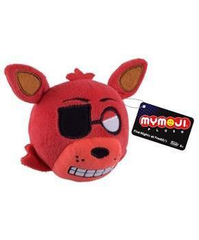 "Five Nights At Freddy's MyMoji 4"" Plush Foxy - Single Random Face"