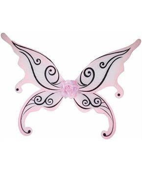 Pink Fairy Adult Costume Wings