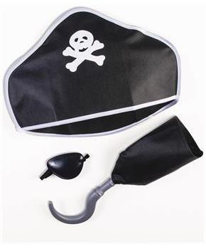 Pirate Playset Costume Kit for Child