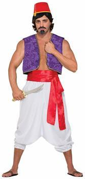 Desert Prince Purple Genie Costume Vest Adult Men Standard
