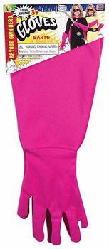 Superhero Pink Gauntlet Costume Gloves Child