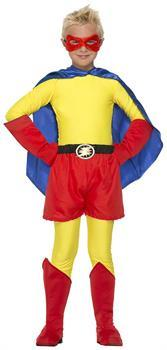 Superhero Red Costume Boot Tops Child