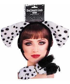 Dalmatian Instant Costume Kit Teen/Adult