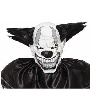 Evil Clown Bezerk Costume Mask Adult Men