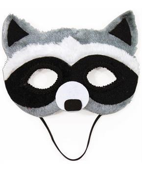 Raccoon Half Mask Costume Accessory Teen/Adult