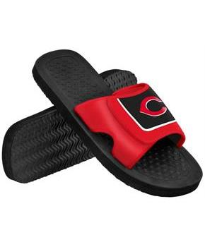 Cincinnati Reds MLB Mens Shower Slide Flip Flops
