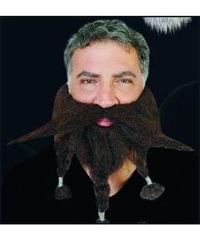 "9"" Brown Halfling Costume Beard"