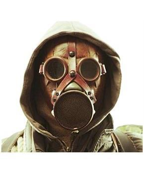 Wasteland Latex Novelty Gas Mask Adult