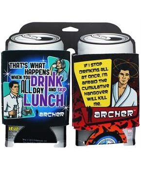 Archer Can Coolers, Set of 2