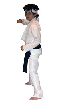 Boys Karate Kid Daniel-San Costume Child - Large