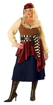 Buccaneer Beauty Women's Costume, Plus Sizes