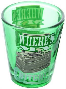 Breaking Bad Where's My Money 2oz Shot Glass